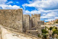 Vecchia città Ragusa in Europa Immagini Stock Libere da Diritti