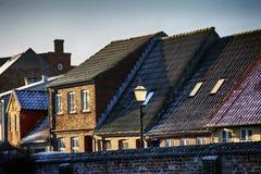 Vecchia città Ribe in Danimarca immagini stock