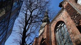 Vecchia città, Riga Fotografia Stock