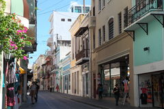 Vecchia città, San Juan Fotografie Stock