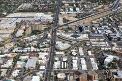 Vecchia città Scottsdale Immagini Stock