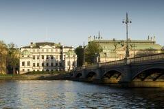 Vecchia città a Stoccolma fotografia stock libera da diritti