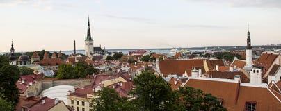 Vecchia città Tallinn Immagini Stock Libere da Diritti