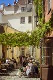 Vecchia città Tallinn, Estonia Fotografia Stock