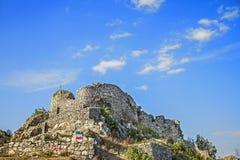 Vecchia città Uzice Serbia della fortezza fotografia stock libera da diritti