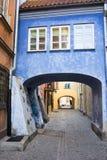 Vecchia città a Varsavia Immagini Stock Libere da Diritti