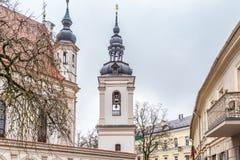 Vecchia città Vilnius Lituania immagine stock libera da diritti