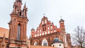 Vecchia città Vilnius Lituania immagini stock libere da diritti