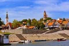 Vecchia città Zemun - Belgrado Serbia fotografie stock libere da diritti