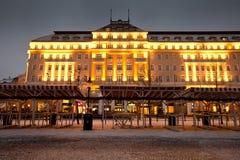 Vecchia città a Bratislava Fotografie Stock Libere da Diritti