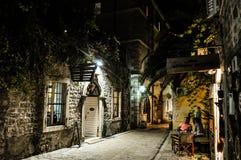 Vecchia città Budva, Montenegro Fotografia Stock