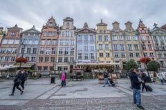 Vecchia città a Danzica Fotografia Stock Libera da Diritti