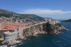 Vecchia città di Dubrovnik Immagini Stock