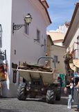 Vecchia città di Lisbona Fotografia Stock