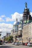 Vecchia città di Montreal, Quebec, Canada Fotografia Stock Libera da Diritti