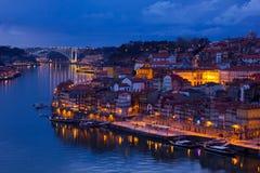 Vecchia città di Oporto, Portogallo Fotografie Stock Libere da Diritti
