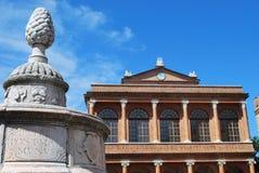 Vecchia città di Rimini Fotografie Stock