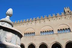 Vecchia città di Rimini Immagine Stock