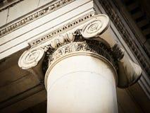 Vecchia colonna Immagini Stock