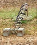 Vecchia conduttura del rifornimento idrico Fotografie Stock