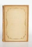 Vecchia copertura del bok, modello incorniciato della copertina di vecchio libro Fotografia Stock Libera da Diritti