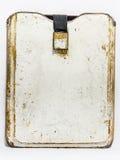 Vecchia copertura di cuoio marrone Immagine Stock