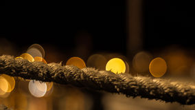 Vecchia corda Fotografie Stock Libere da Diritti