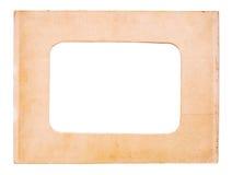Vecchia cornice di carta Fotografia Stock Libera da Diritti