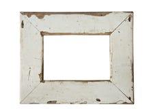 Vecchia cornice di legno fotografia stock