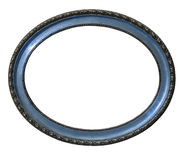 Vecchia cornice ovale fotografia stock libera da diritti