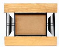 Vecchia cornice su un fondo bianco Fotografie Stock