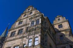 Vecchia corte a Bamberga, Franconia, Germania Fotografie Stock Libere da Diritti