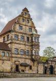 Vecchia corte di Alte Hofhaltung, Bamberga, Germania Immagine Stock Libera da Diritti