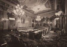Vecchia Corte suprema Immagini Stock