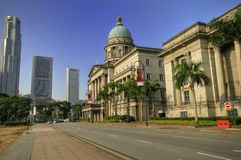 Vecchia Corte suprema, Singapore Fotografie Stock Libere da Diritti