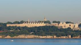 Vecchia Costantinopoli di mattina stock footage