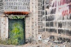 Vecchia costruzione Immagini Stock Libere da Diritti