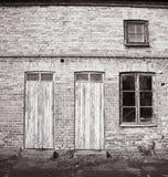 Vecchia costruzione Immagini Stock