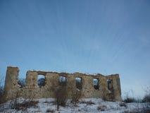 Vecchia costruzione abbandonata Fotografie Stock