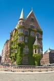 Vecchia costruzione a Amburgo Immagine Stock Libera da Diritti