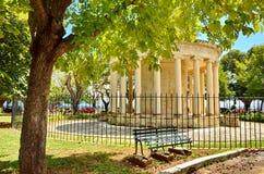 Vecchia costruzione antica in Grecia fotografie stock libere da diritti