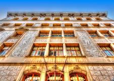 Vecchia costruzione a Barcellona Immagini Stock Libere da Diritti