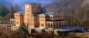 Vecchia costruzione in Bulgaria Fotografie Stock
