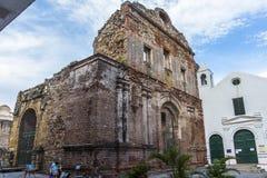 Vecchia costruzione in Casco Viejo Panamá Fotografie Stock Libere da Diritti