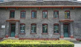 Vecchia costruzione a Chengdu, Cina immagini stock