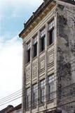 Vecchia costruzione cinese Fotografie Stock Libere da Diritti
