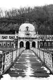 Vecchia costruzione da Herculane, Romania Fotografia Stock