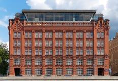 Vecchia costruzione dai mattoni rossi Fotografia Stock Libera da Diritti