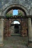 Vecchia costruzione del fantasma in India fotografia stock libera da diritti