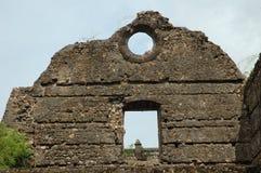 Vecchia costruzione del fantasma in India fotografia stock